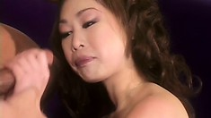 Beautiful Asian sweetheart gets her tight creamy cunt ravaged